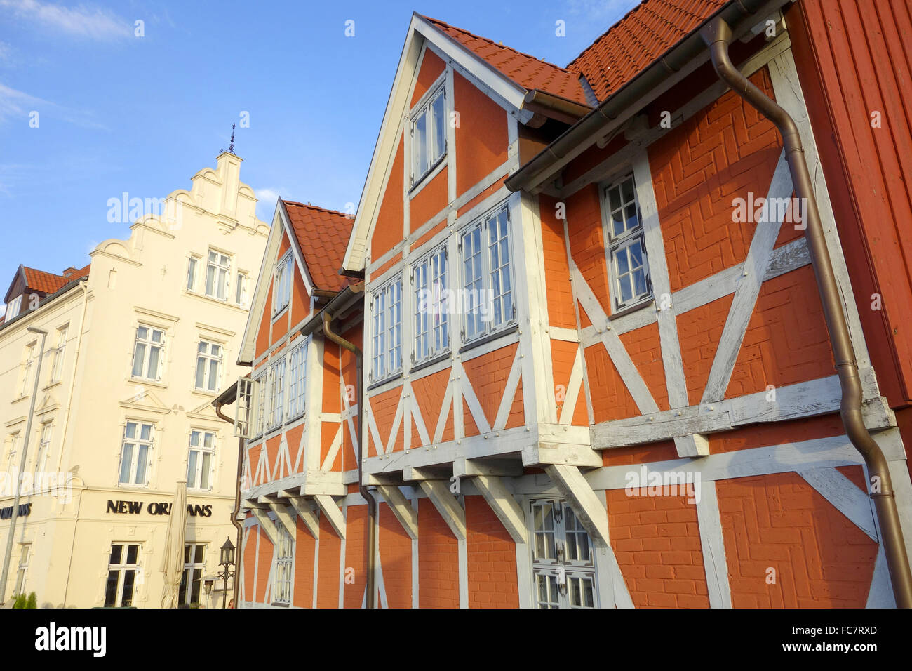 wismar, germany Stock Photo