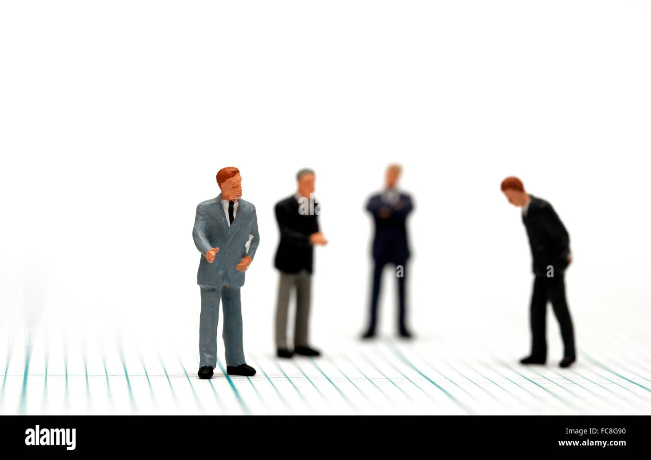 Lack of direction concept - Stock Image