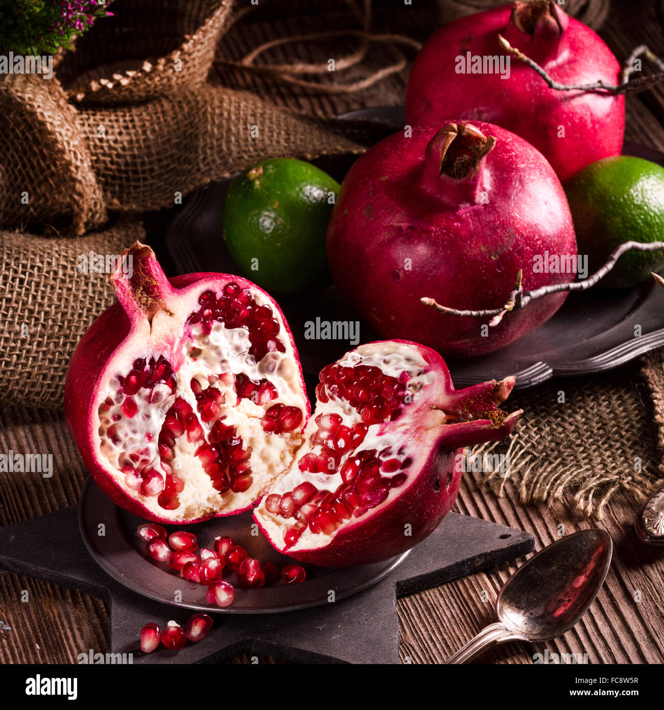 Pomegranate - Stock Image