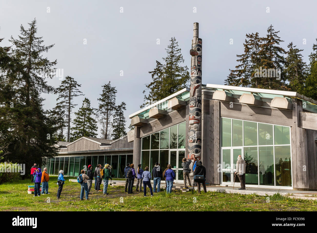 Gwaii Haanas National Park Reserve and Haida Heritage Site, British Columbia, Canada, North America - Stock Image