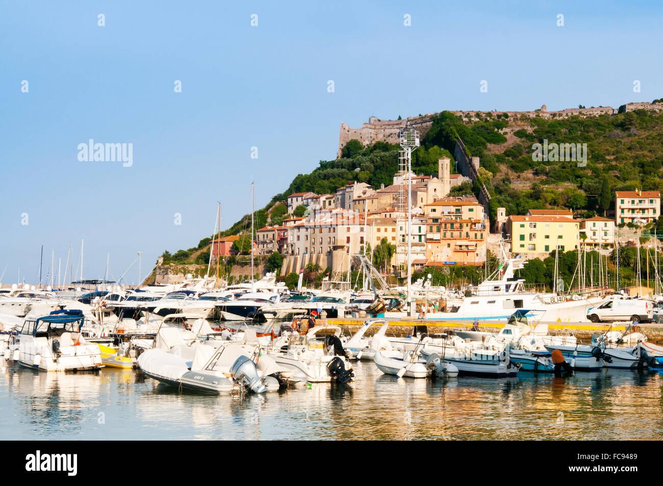 Porto Ercole, Grosseto Province, Tuscany, Italy, Europe - Stock Image