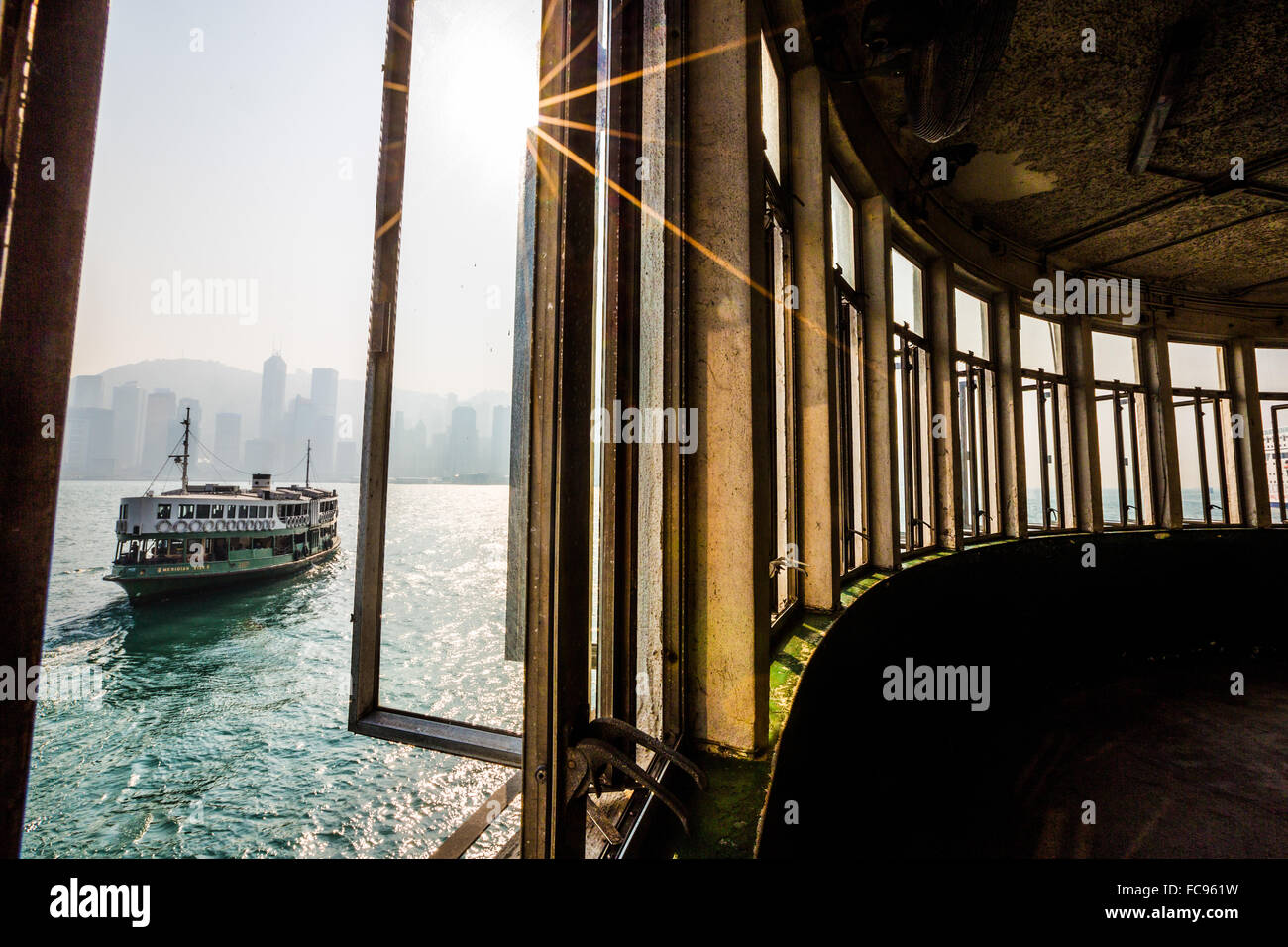 Star Ferry, Tsim Sha Tsui, Hong Kong, China, Asia - Stock Image