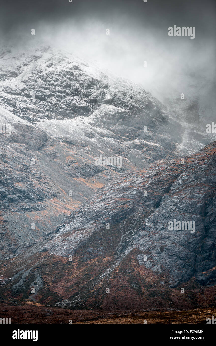 Sgurr na Banachdaich, Black Cuillin mountains in the south of the Isle of Skye. - Stock Image