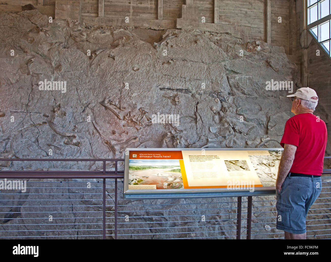 Dinosaur National Monument - Stock Image
