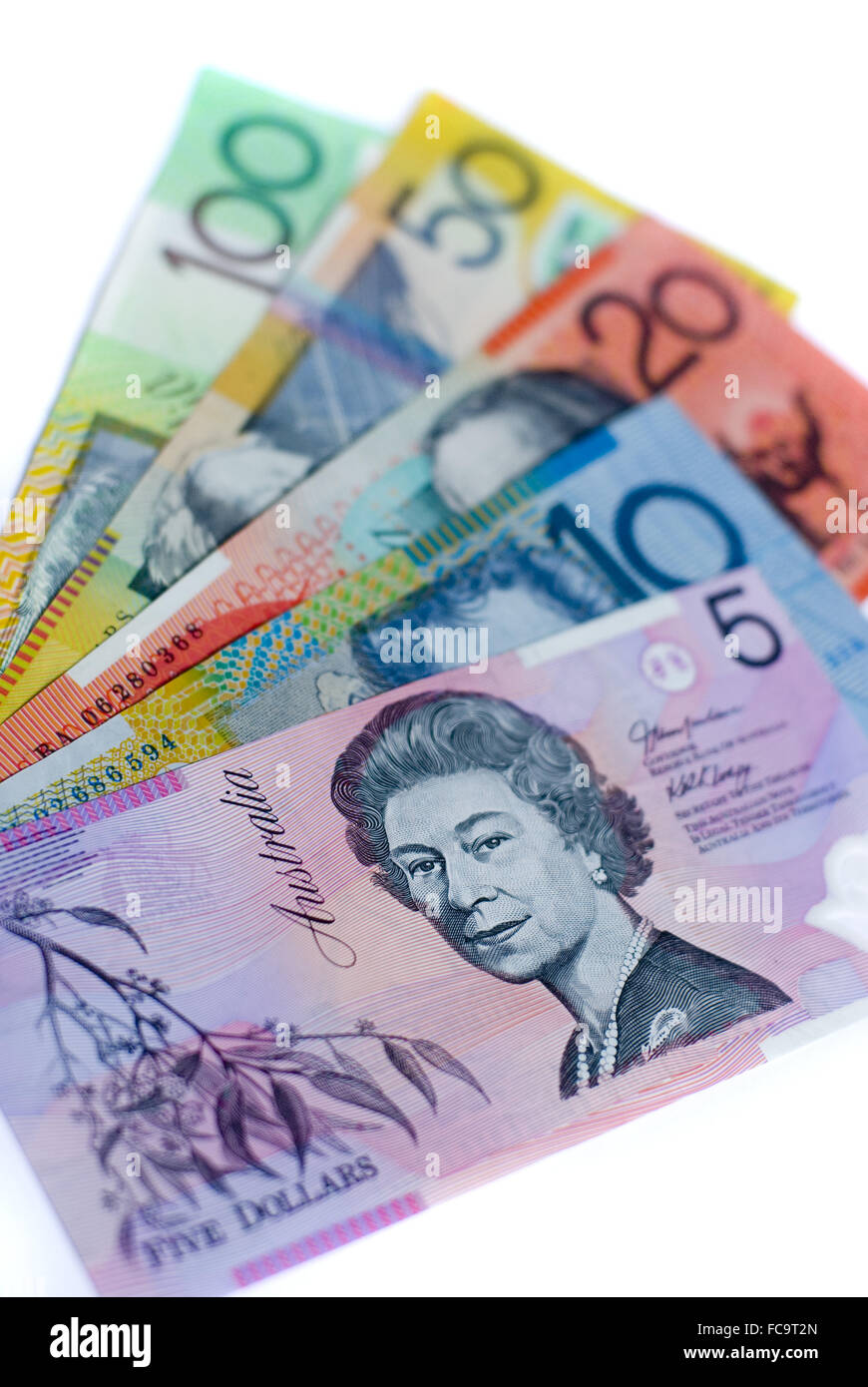 aussie cash - Stock Image