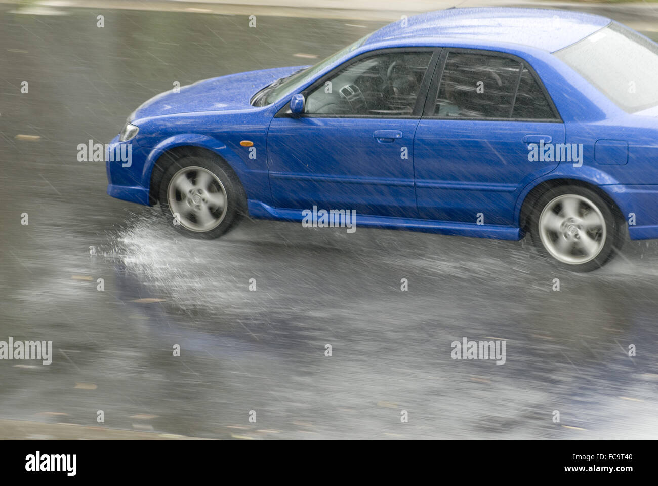 rainstorm - Stock Image