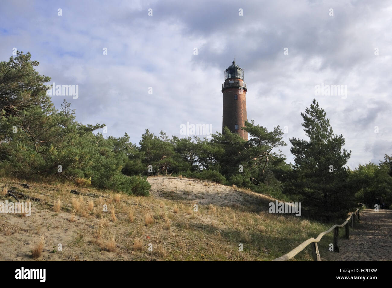 Lighthouse Darßer Ort - Stock Image