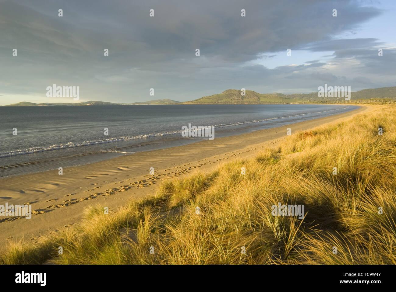 7 Mile Beach - Stock Image