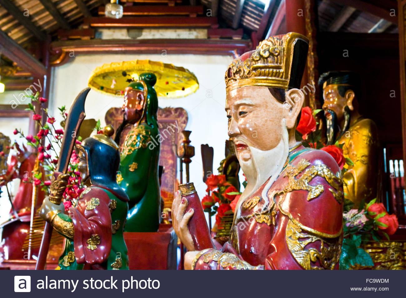 Ngoc Son Temple - Stock Image
