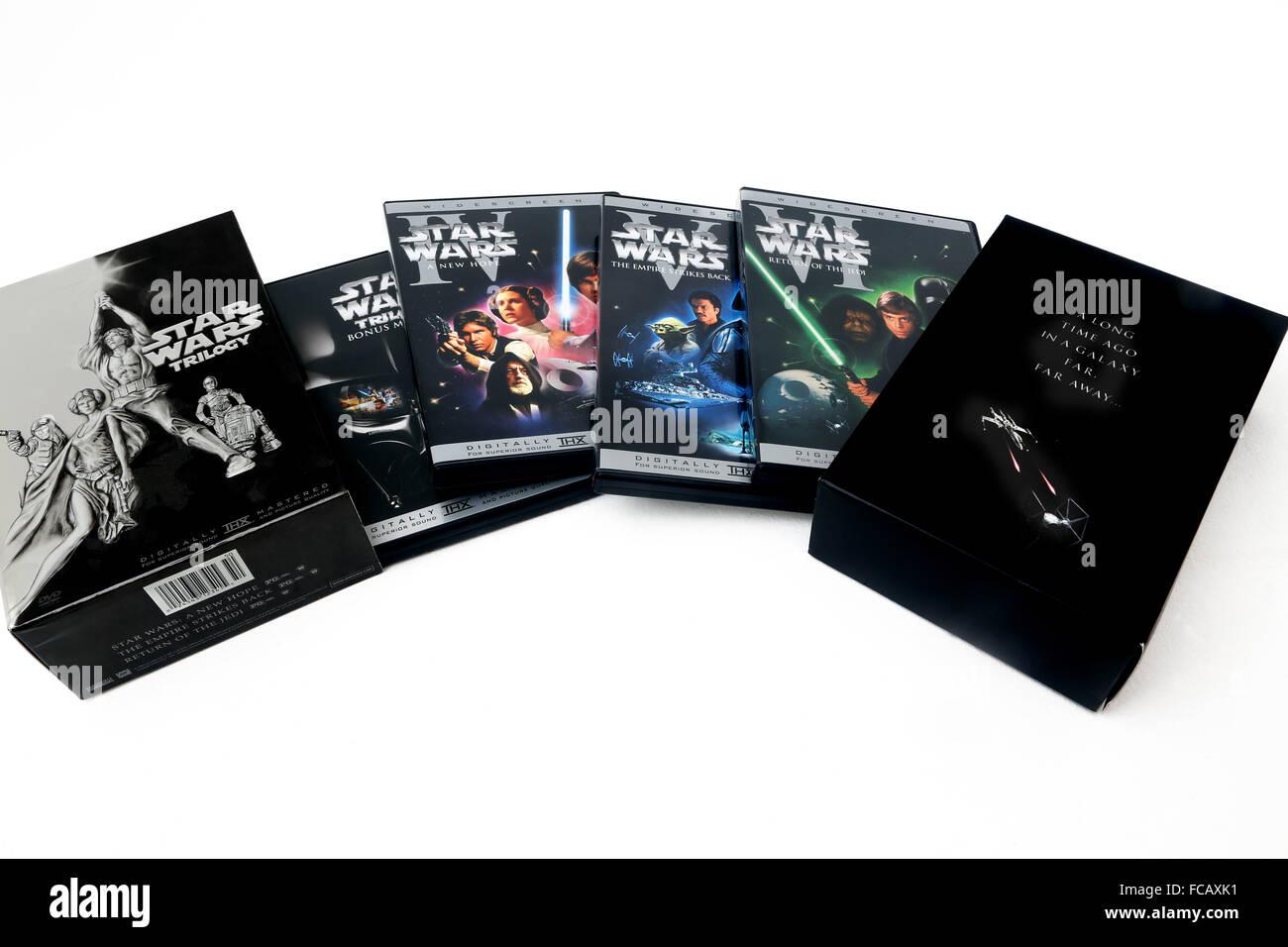Star Wars Dvd Box