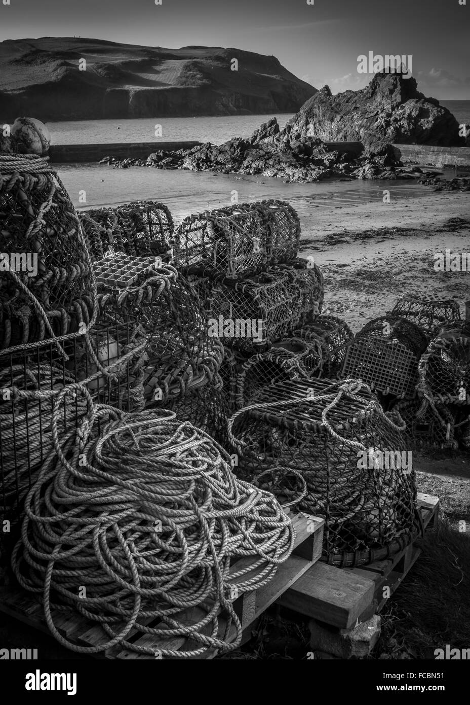 fishing jumble - Stock Image
