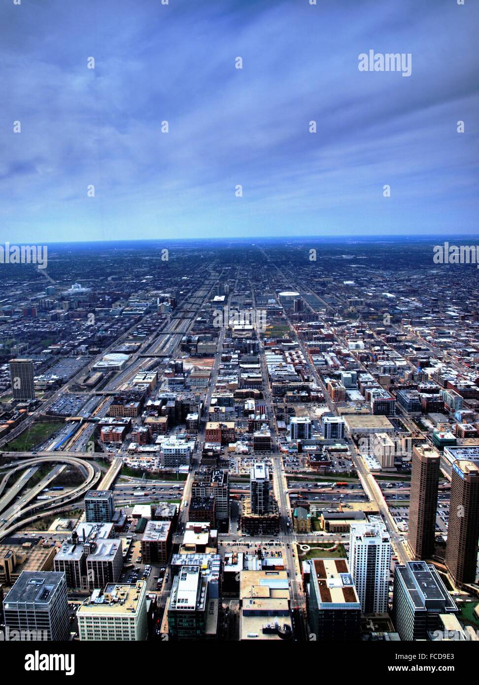Modern City Sprawl - Stock Image