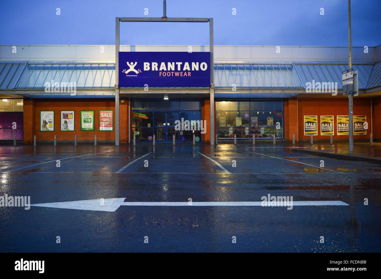 Aberystwyth, Wales, UK. 22nd January, 2016  Which way forward?  It was announced last night (Jan 21 2016) that BRANTANO - Stock Image