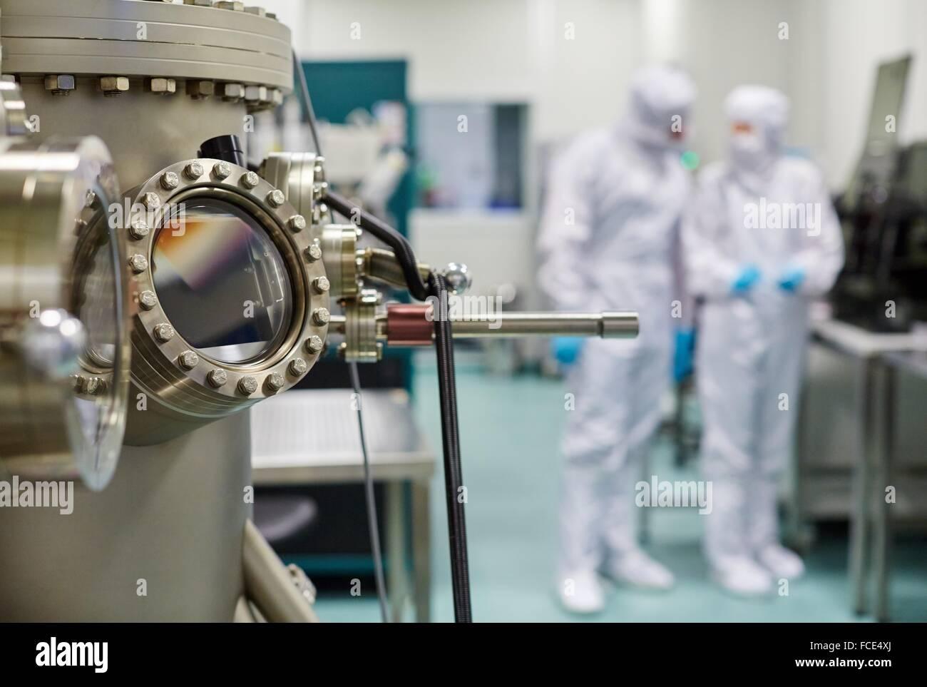 Createc UHV deposition system  Cleanroom  Nanotechnology