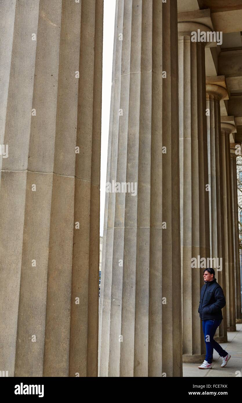 Memorial of the Federal Republic of Germany for the Victims of War and Tyranny, Berlin, Germany - Stock Image