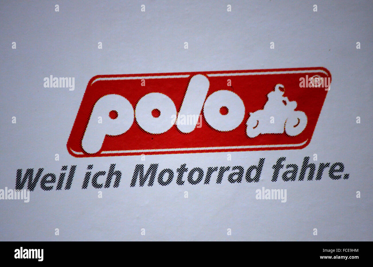 Markenname: 'Polo', Berlin. - Stock Image