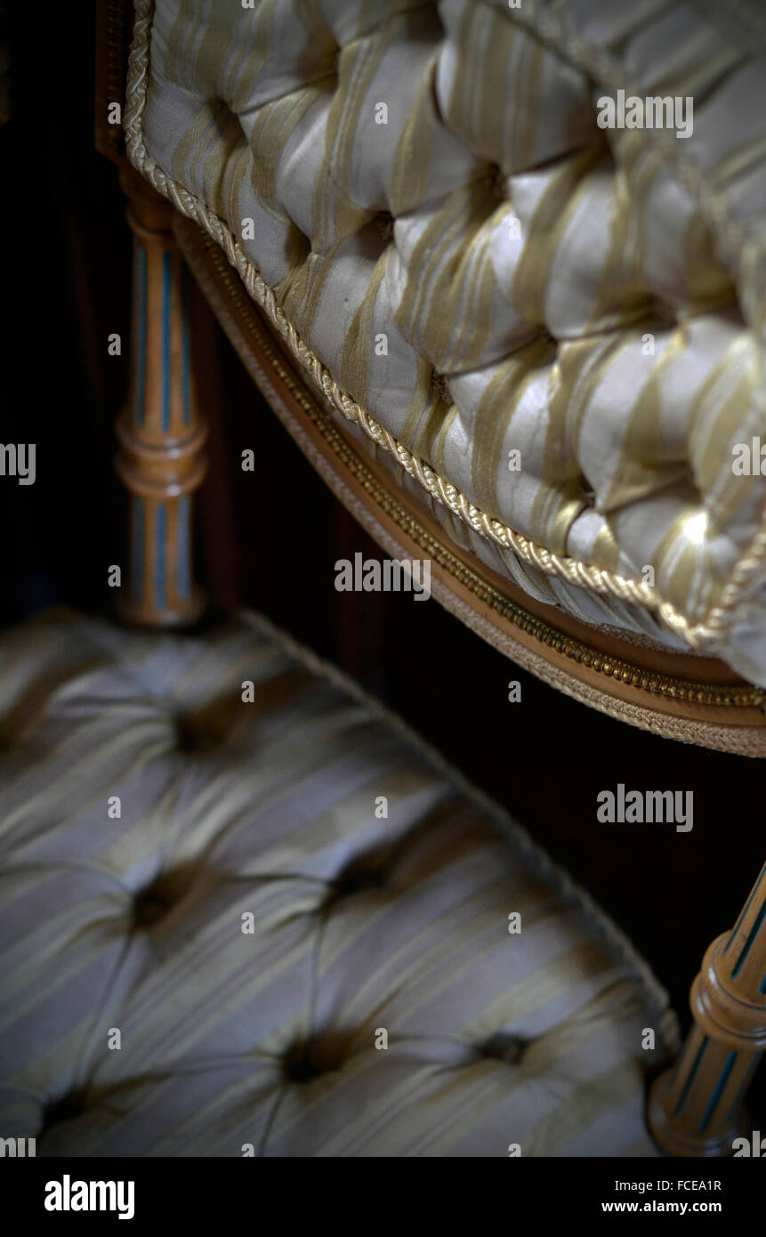 antique chair - Stock Image
