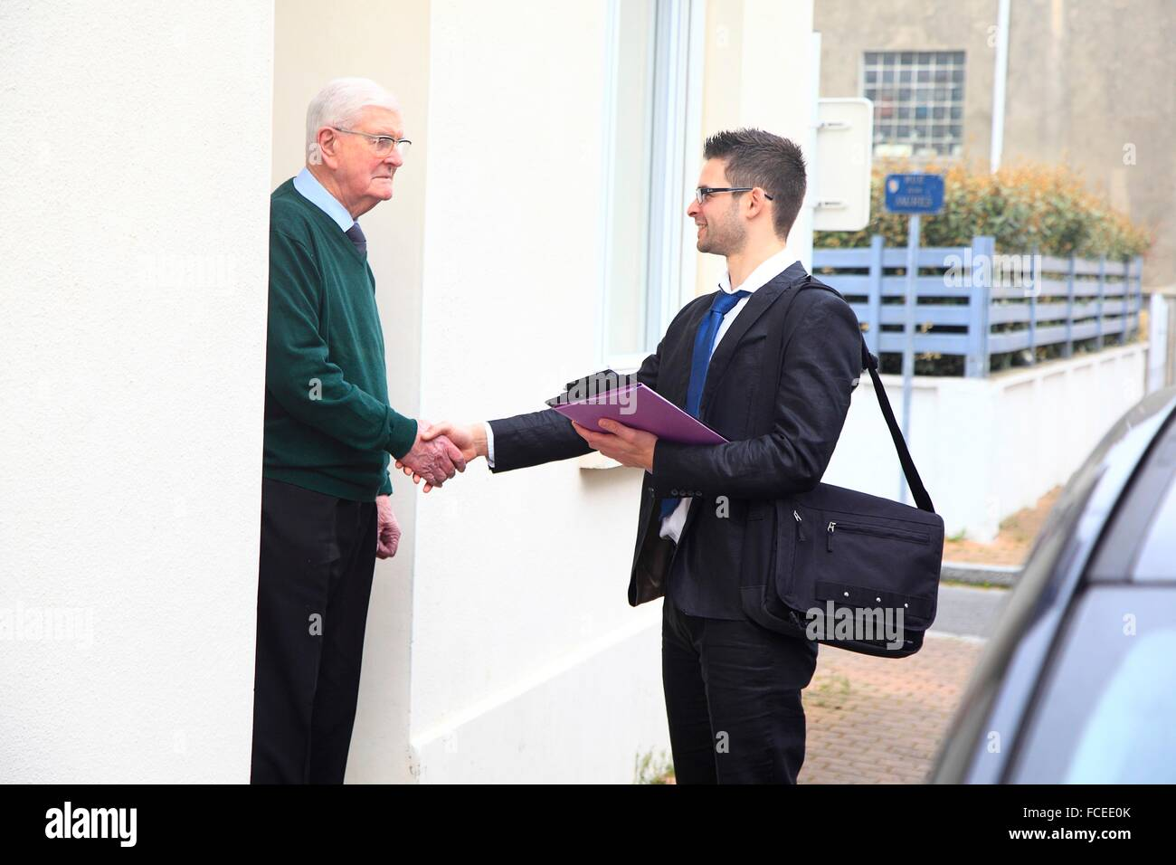 France canvassing at the main door - Stock Image  sc 1 st  Alamy & Canvassing Stock Photos \u0026 Canvassing Stock Images - Alamy