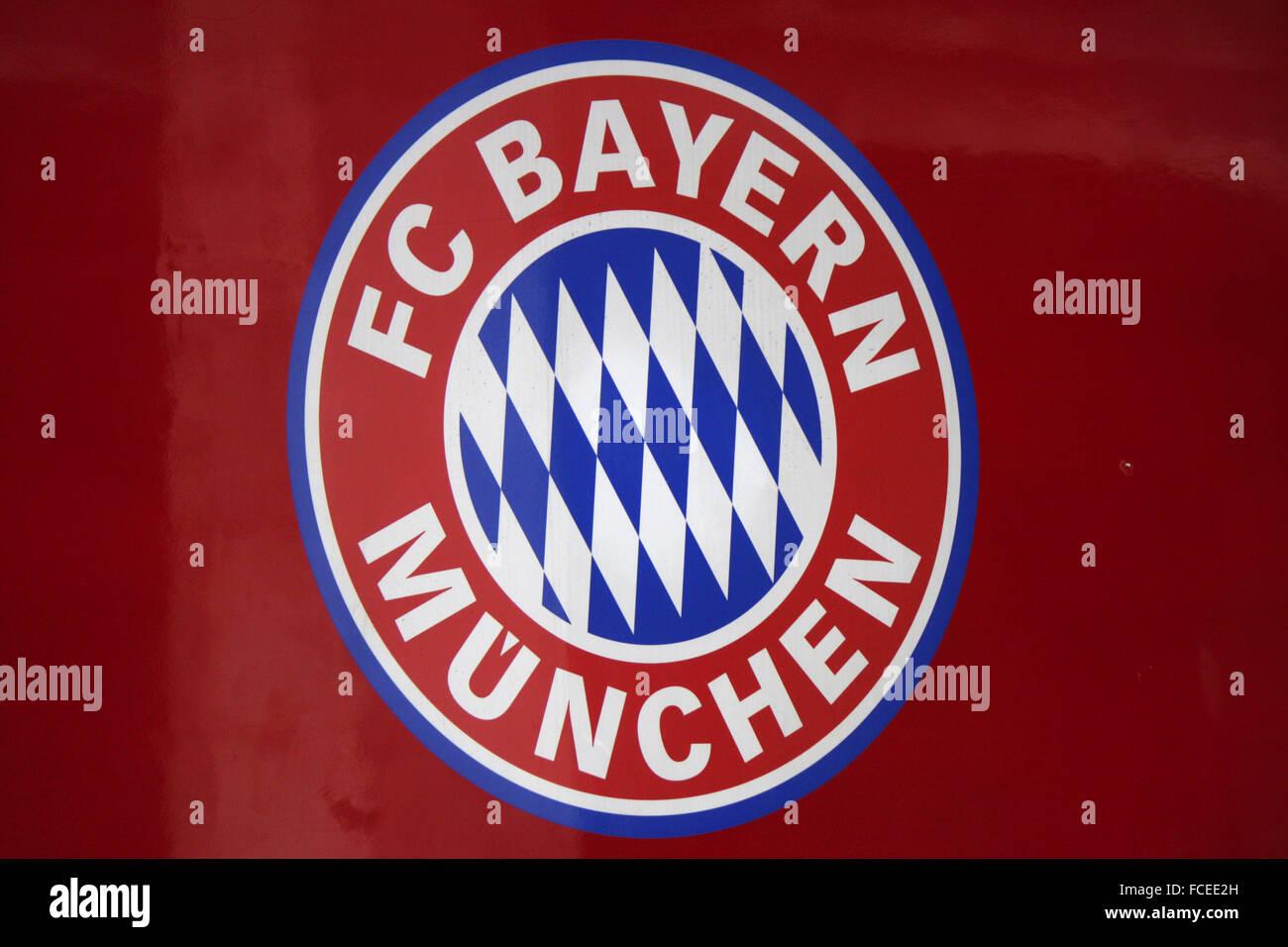 Markenname: 'FC Bayern Muenchen', Berlin. - Stock Image