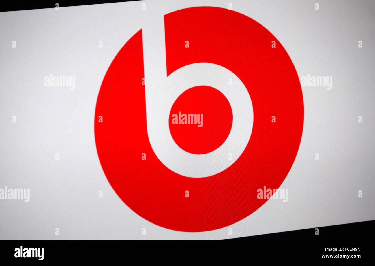 Markenname: 'Beats Electronics', Berlin. - Stock Image