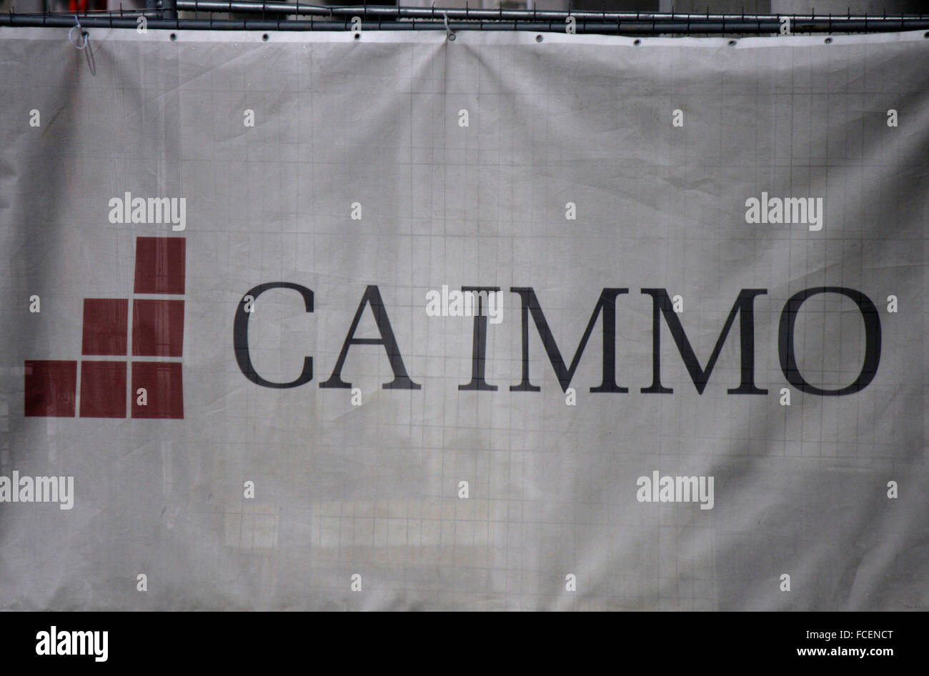 Markenname: 'Ca Immo', Berlin. - Stock Image