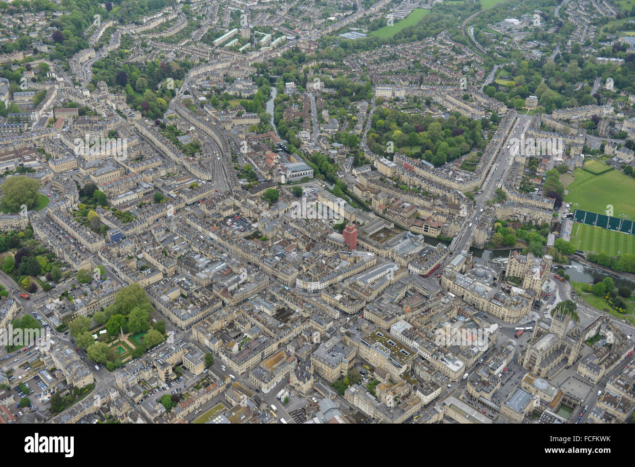 General views of the Somerset city of Bath - Stock Image