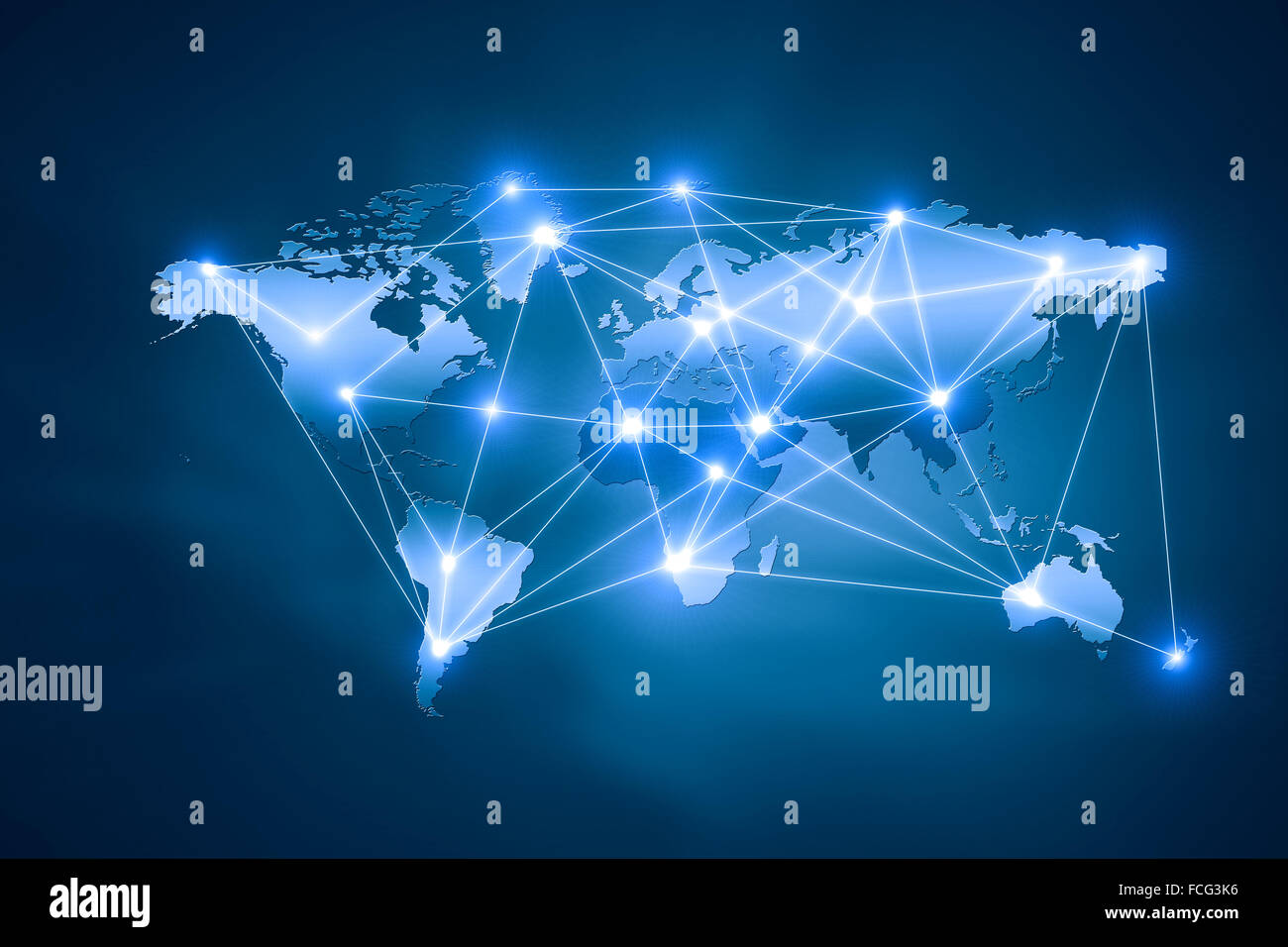 Background digital image of world map with connection lines stock background digital image of world map with connection lines gumiabroncs Gallery