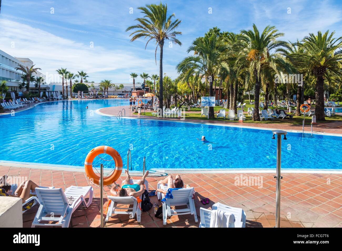ILLUSTRATION OF ANDALUSIA, COSTA DEL SOL, SOUTHERN SPAIN, EUROPE - Stock Image