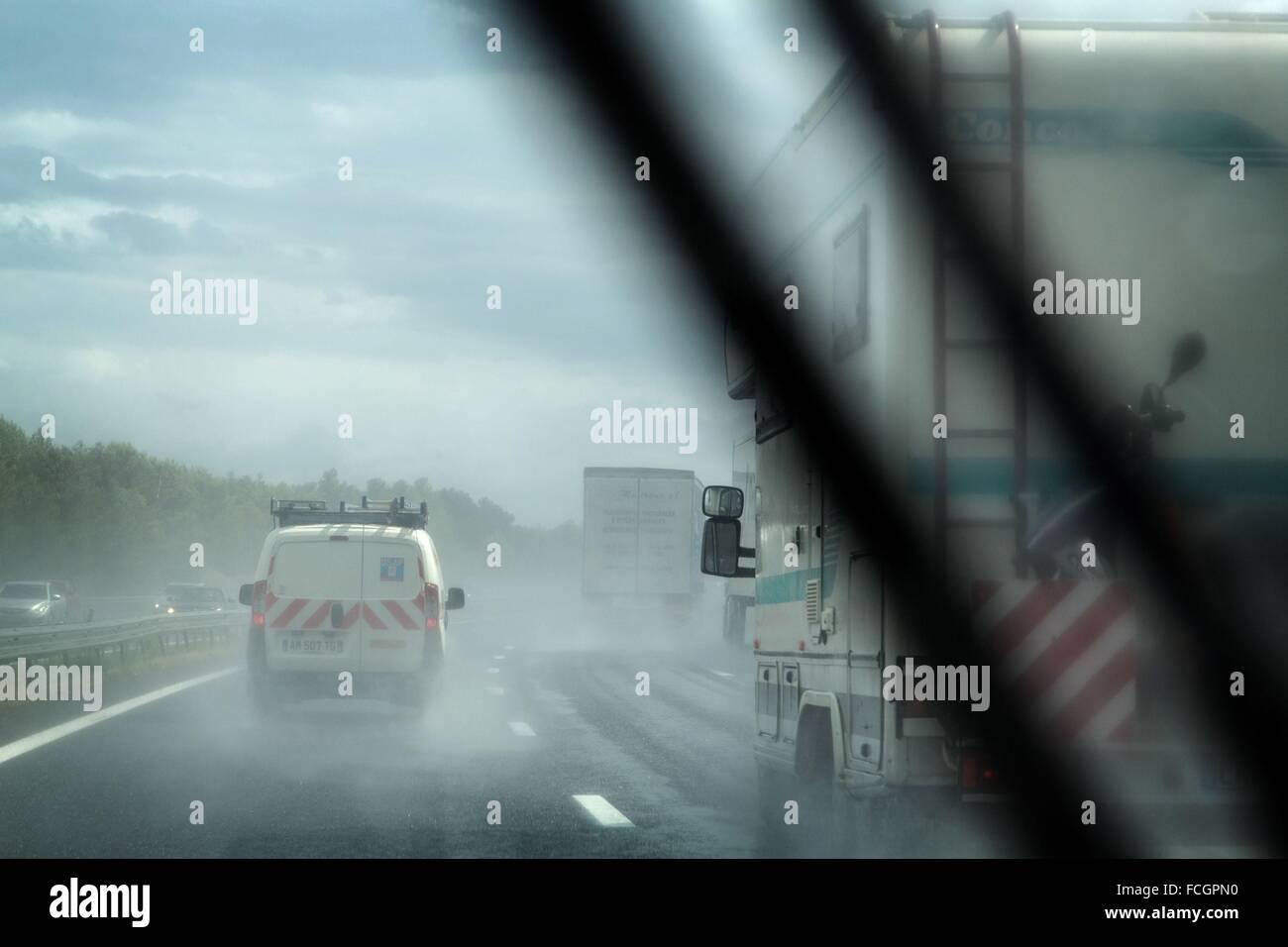 ILLUSTRATION OF MOTORWAYS - Stock Image