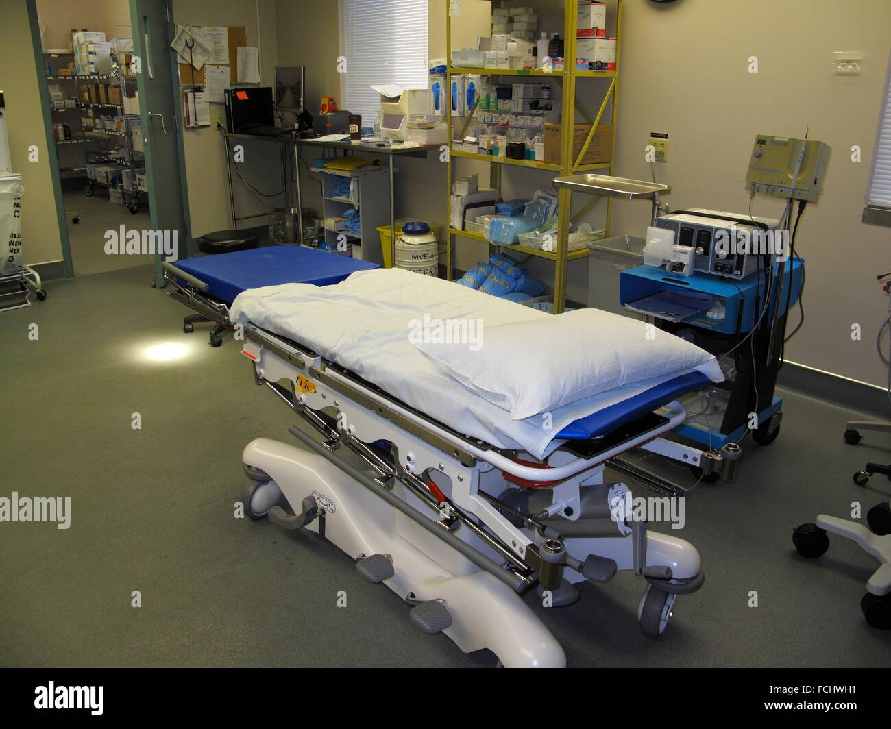 A procedure operating room in a hospital - Stock Image
