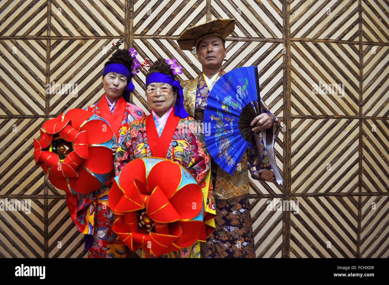 91fc22c8a50 Naha Okinawa Japan Traditional Ryukyan Stock Photos   Naha Okinawa ...