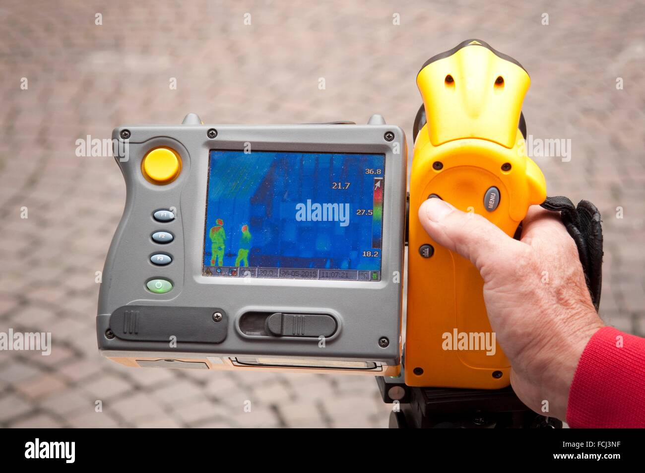 Thermal Imaging Camera.. - Stock Image