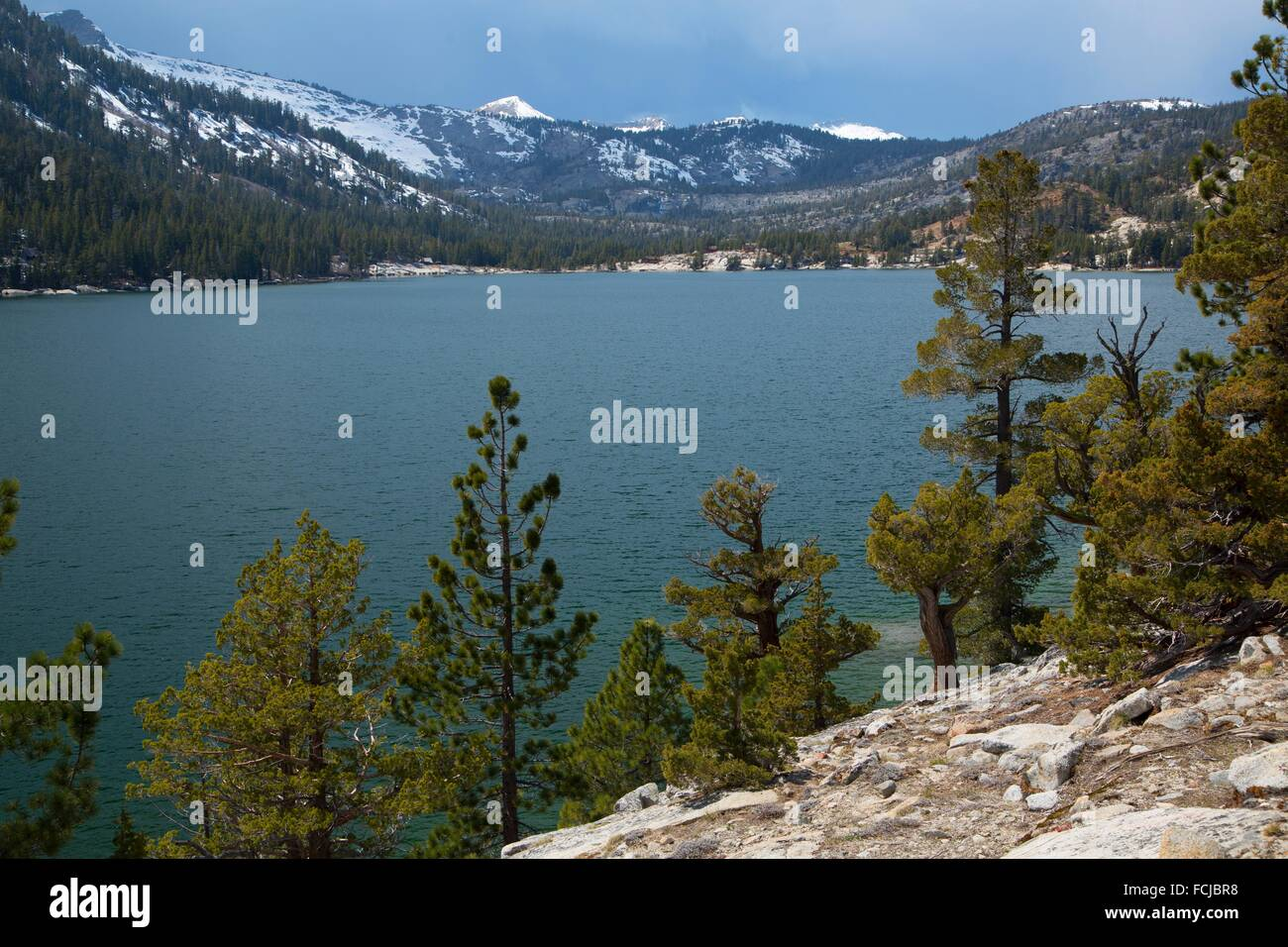 Echo Lake Ca >> Lower Echo Lake From Pacific Crest Trail Lake Tahoe Basin