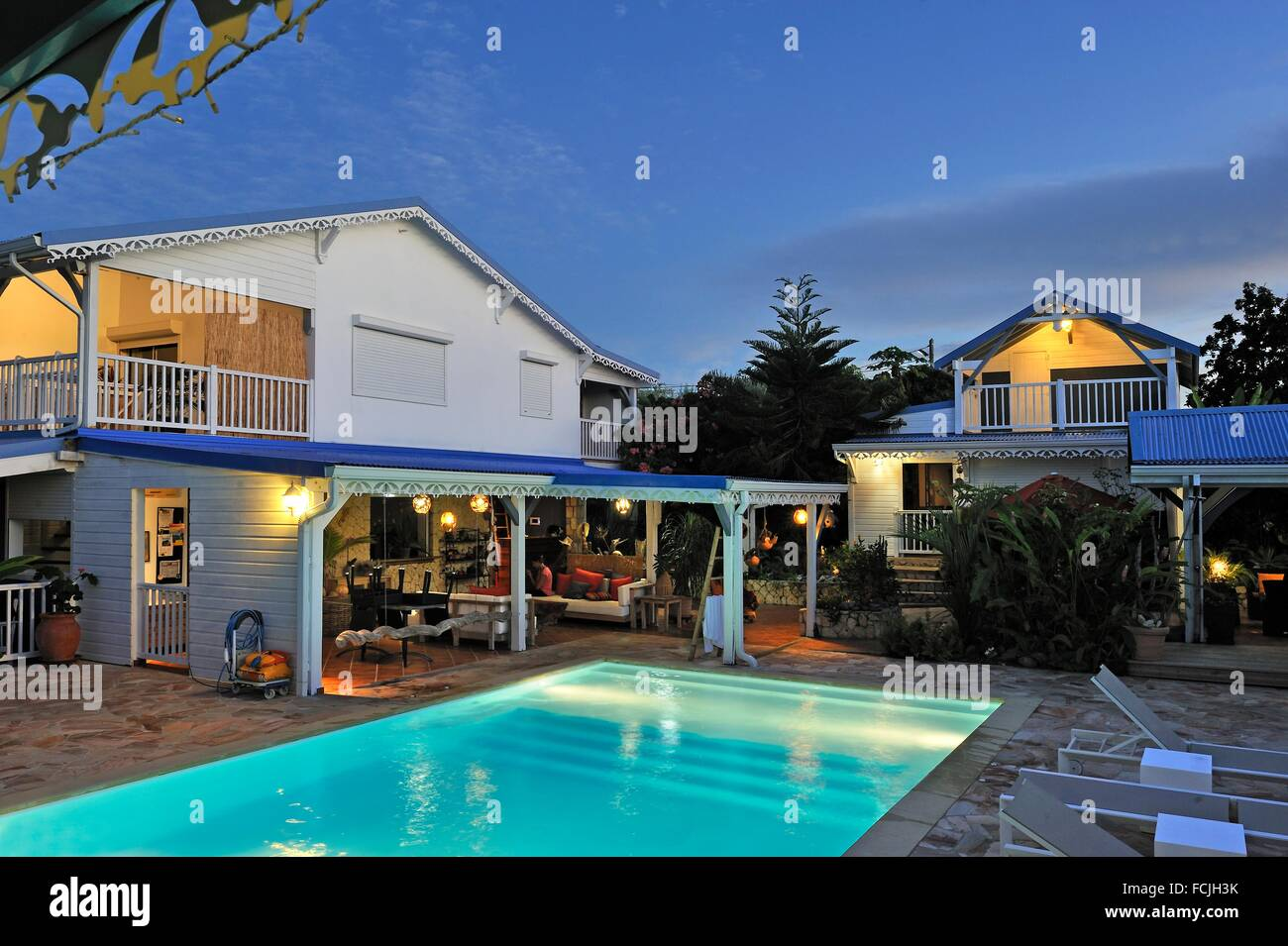 La maison calebasse guesthouse and villas rental saint francois grande terre guadeloupe overseas region of france