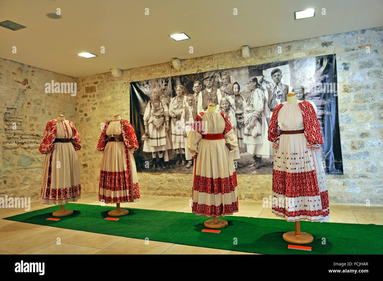 Ethnographic Museum, Old Town, Split, Croatia, Southeast Europe. - Stock Image