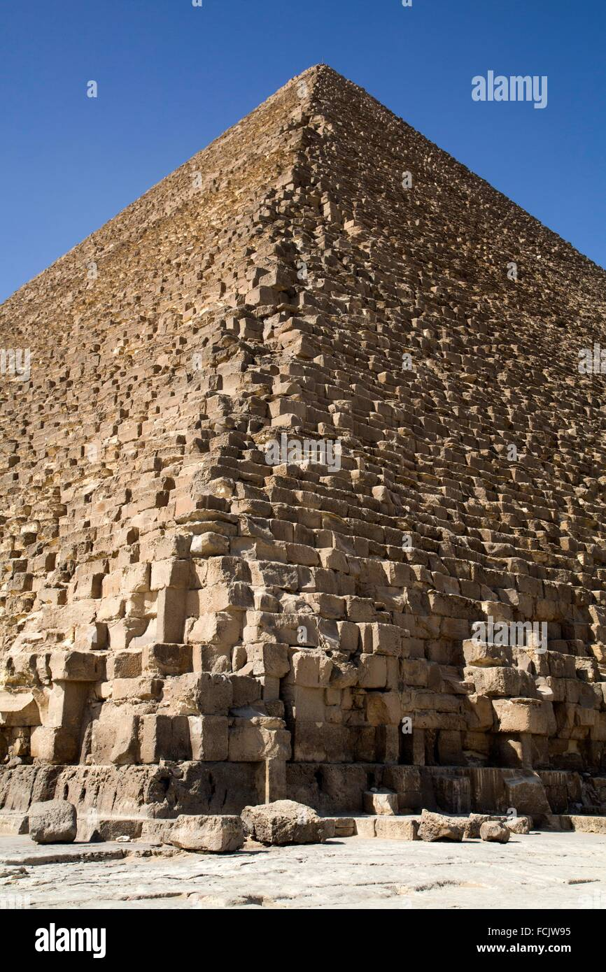 Great Pyramid of Cheops, The Giza Pyramids, Giza, Egypt