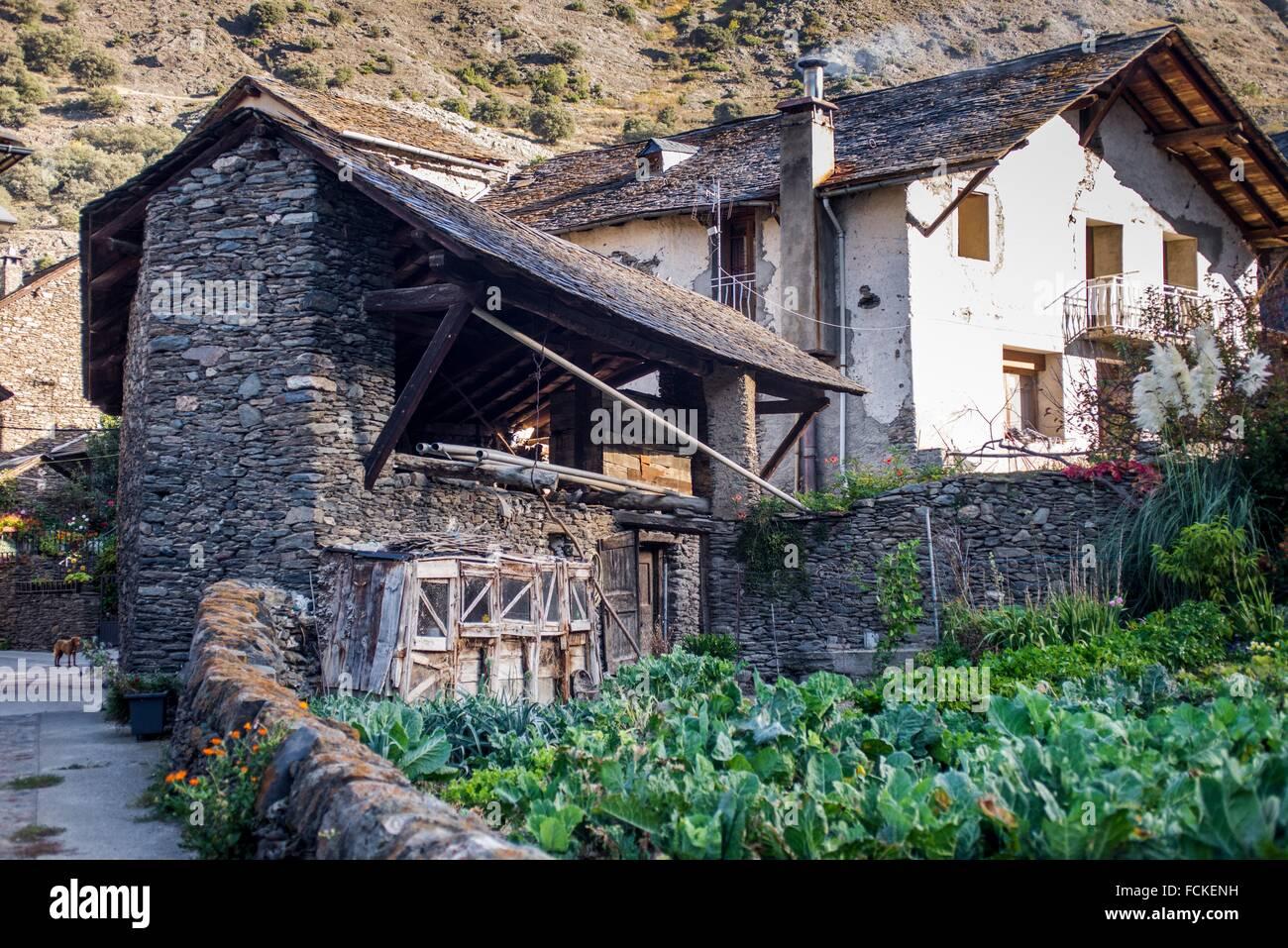 Arròs de Cardós, Pallars Sobirà, Lerida, Catalonia, Spain. Stock Photo