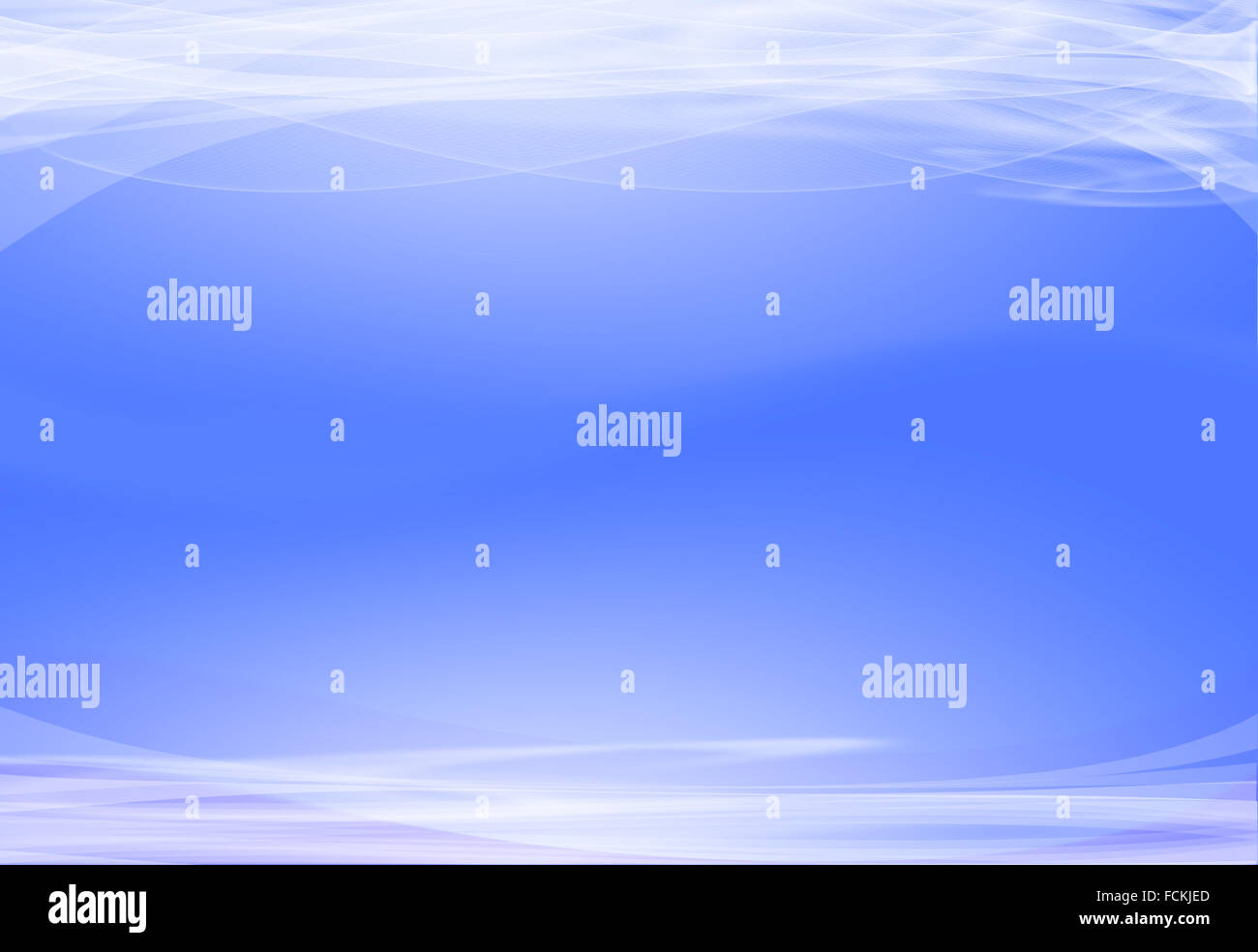 Abstract Blue Background - Stock Image