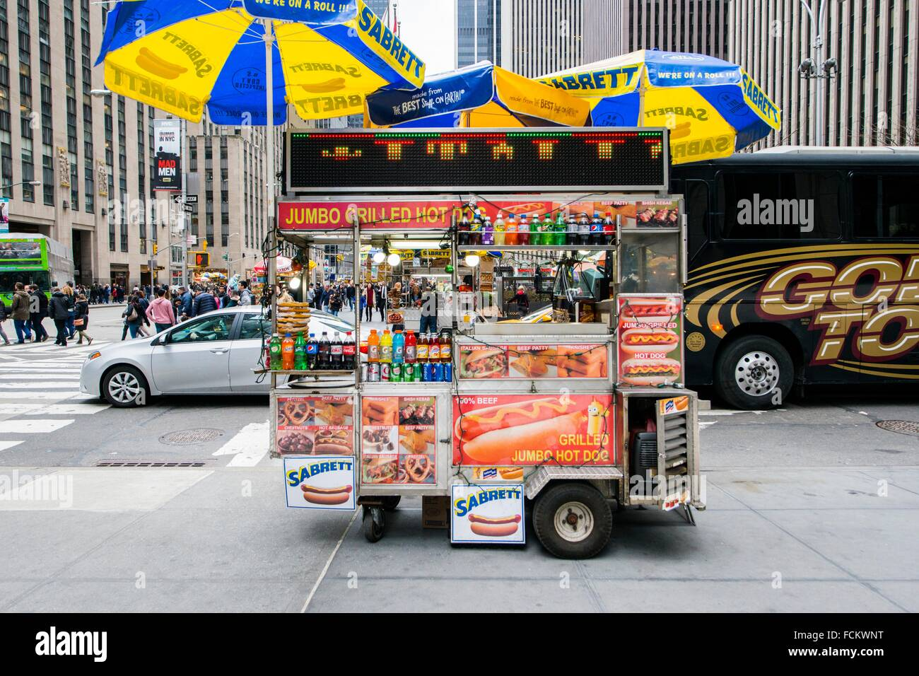 Mobile Hot Dog Stand Stock Photos & Mobile Hot Dog Stand