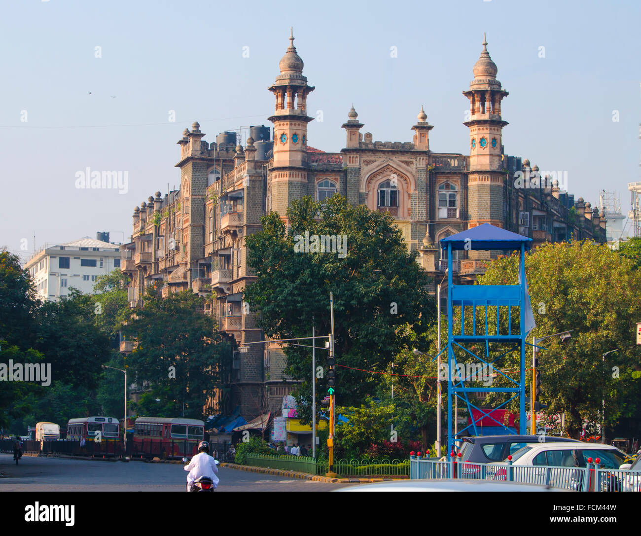 city landscape of the city of Mumbai,in india,the city,the street,a landscape gorosky,mumbai,at home,architecture,sight - Stock Image