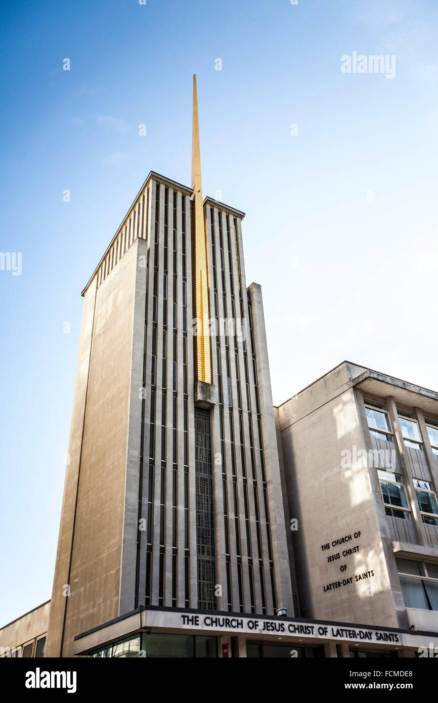 The curch of Jesus Christ of latter-day saints in London, UK. Stock Photo