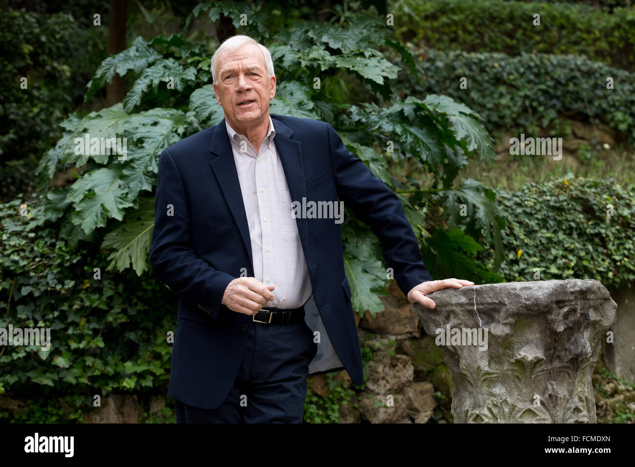 Rome, Italy  23rd Jan, 2016  Walter Robinson, a Boston Globe
