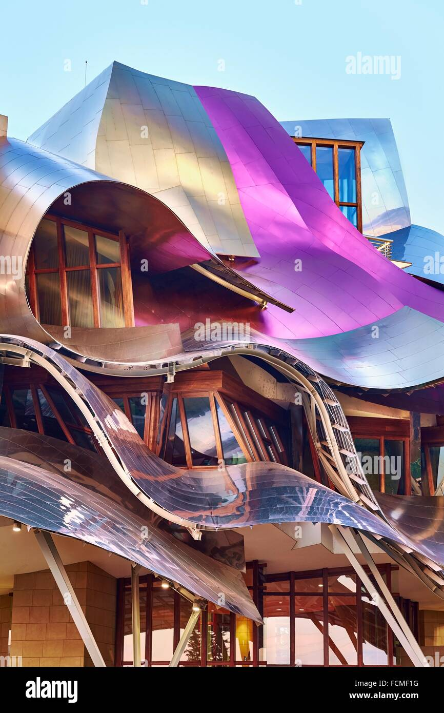The Hotel Marqués de Riscal, A Luxury Collection Hotel by architect ...