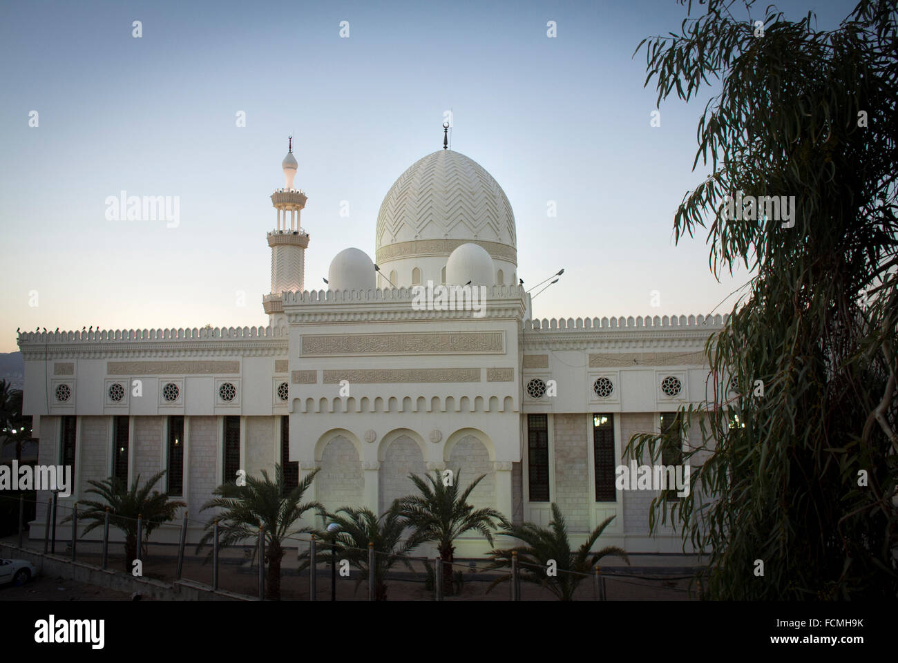 Al Sharif-Hussein bin Ali Mosque, Aqaba, - Stock Image