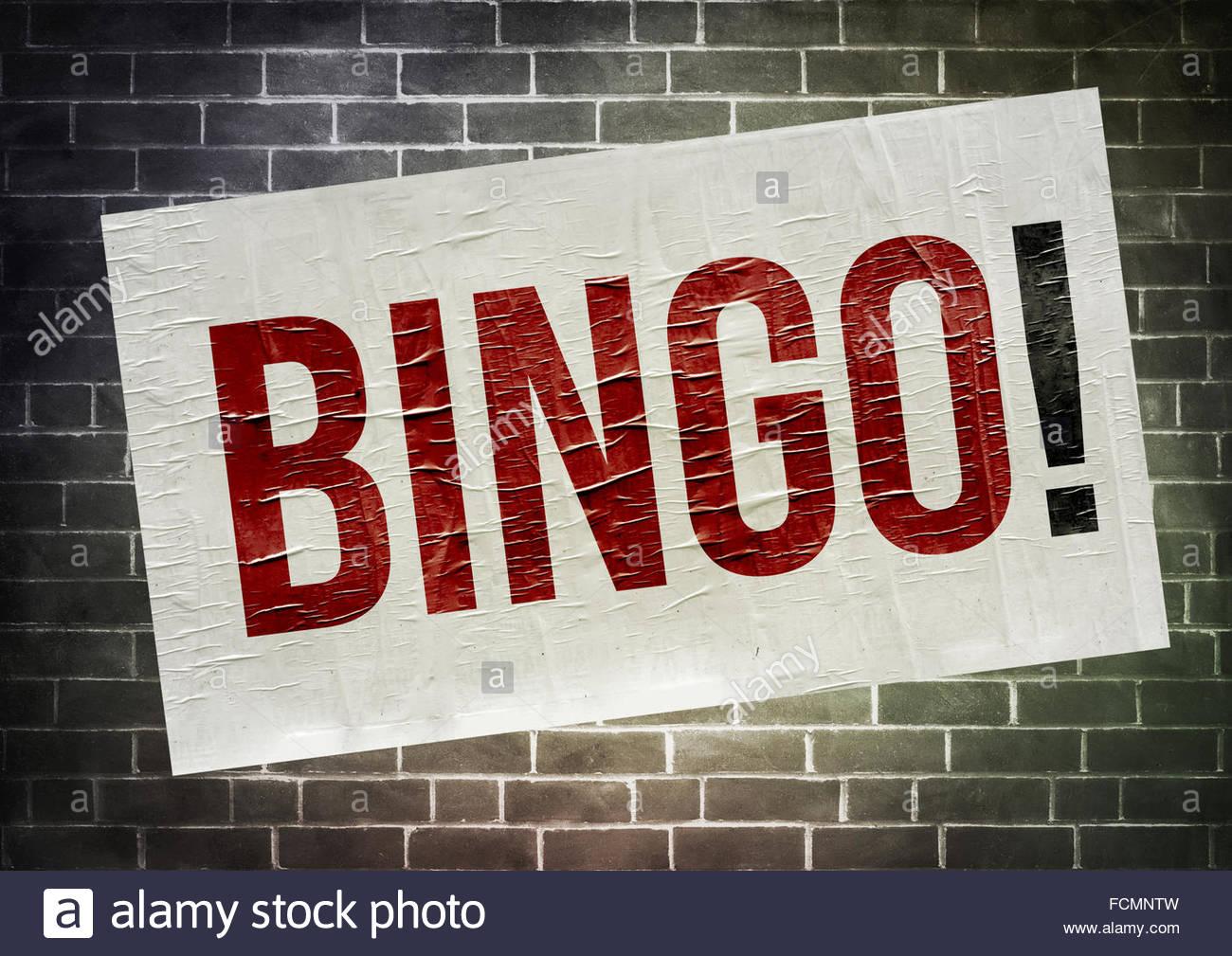 Bingo - Stock Image