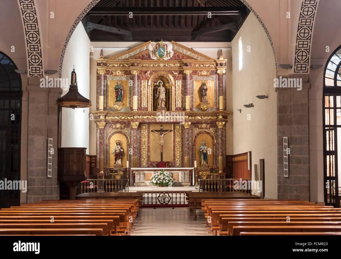iglesia de san sebasti n en san sebasti n de los reyes madrid stock photo 93884843 alamy. Black Bedroom Furniture Sets. Home Design Ideas