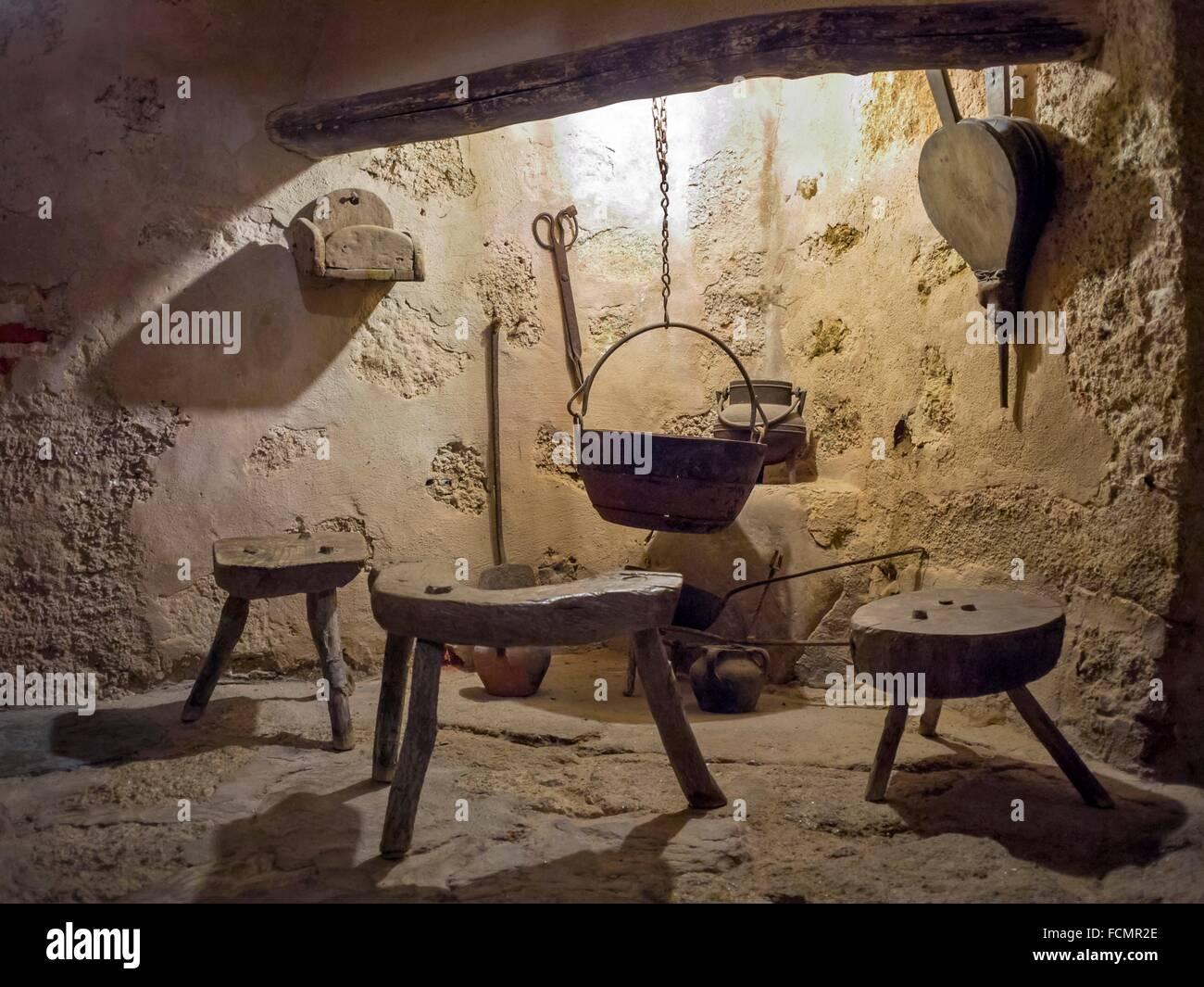 antigua cocina en el monasterio de el palancar c ceres On antigua cocina encantadora