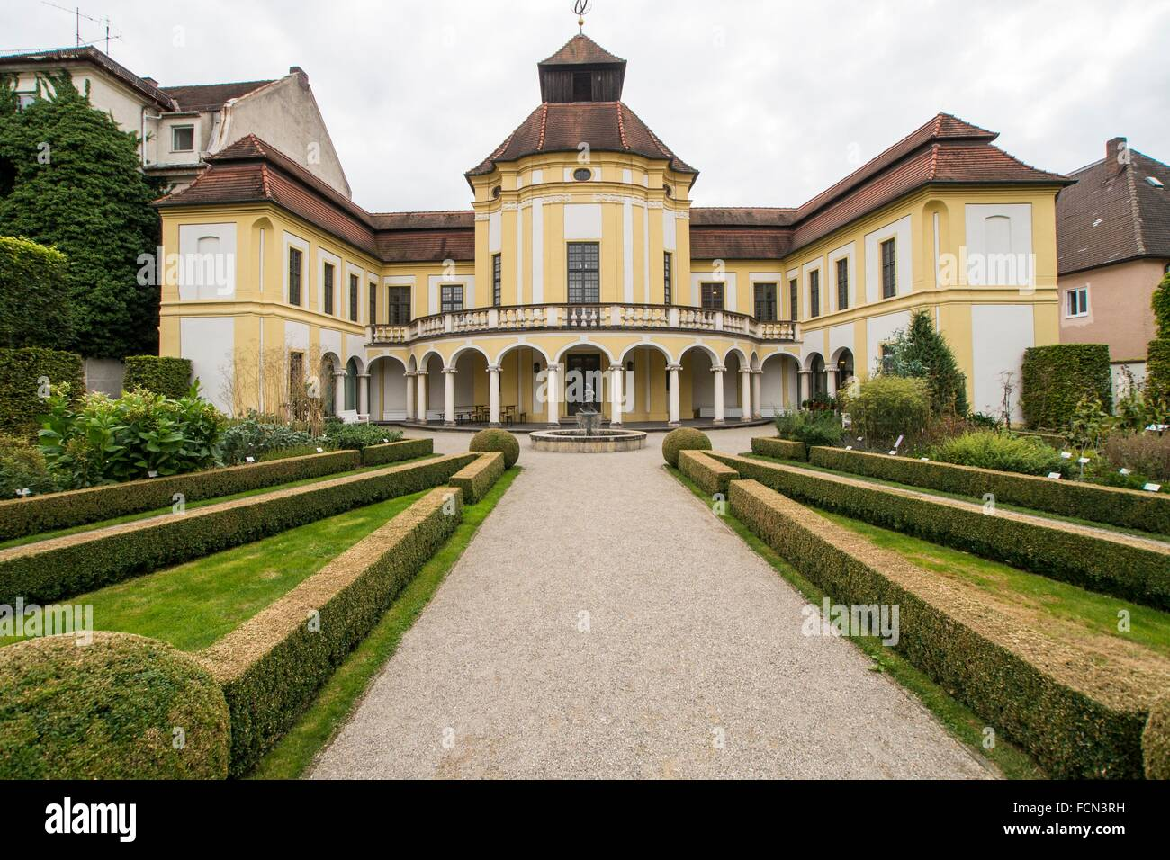 Ingolstadt, Germany,German medicine history museum. Stock Photo