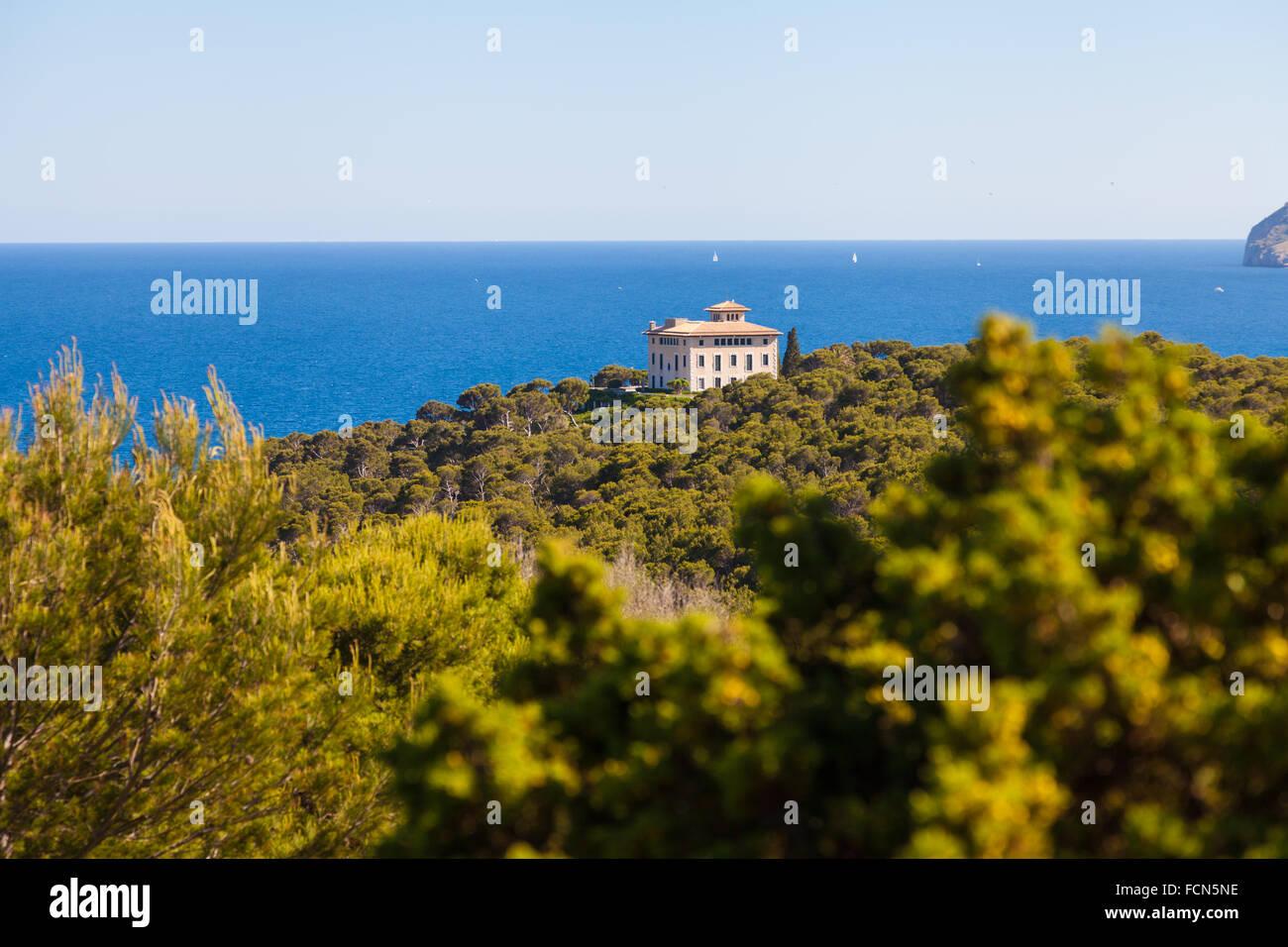 Sa Torre Cega, Cala Ratjada, Mallorca - Stock Image