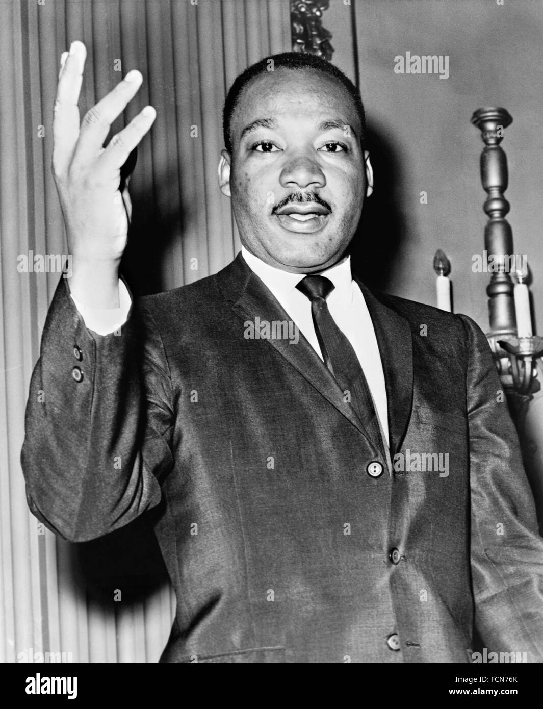Dr Martin Luther King Jr in 1964 Stock Photo